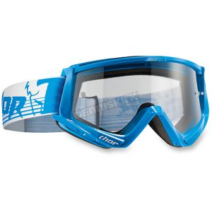 THOR CONQUER OFFROAD GOGGLES BLUE/WHITE ONE SIZE