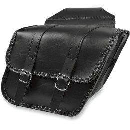 SADDLEBAG SLANT BRAIDED