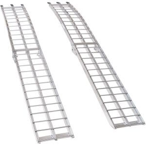 "ARCHED FOLDING ALUMINUM RAMP 90"" (EACH)"