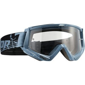 THOR CONQUER OFFROAD GOGGLES STEEL/BLACK ONE SIZE